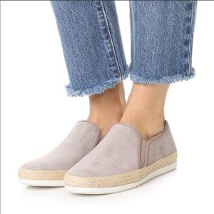 NEW Vince Acker Sneakers Slip-On Suede